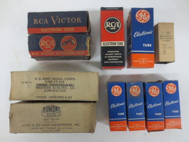 Old Radio tubes - lot #1