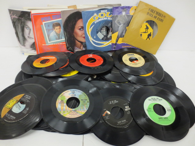coll. of 45 records
