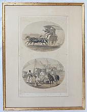 Lithographs of Capt. G.F. Atkinson and E. Walker