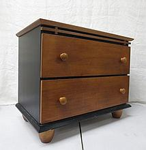 Two drawer chest, night stand