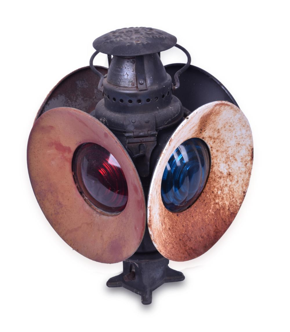 Adlake Southern Pacific Railroad Switch Lamp
