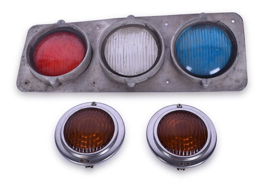 Chicago, South Shore, & South Bend Railroad Nippon Commuter Car Classification Light plus additional Trans Lite marker lights