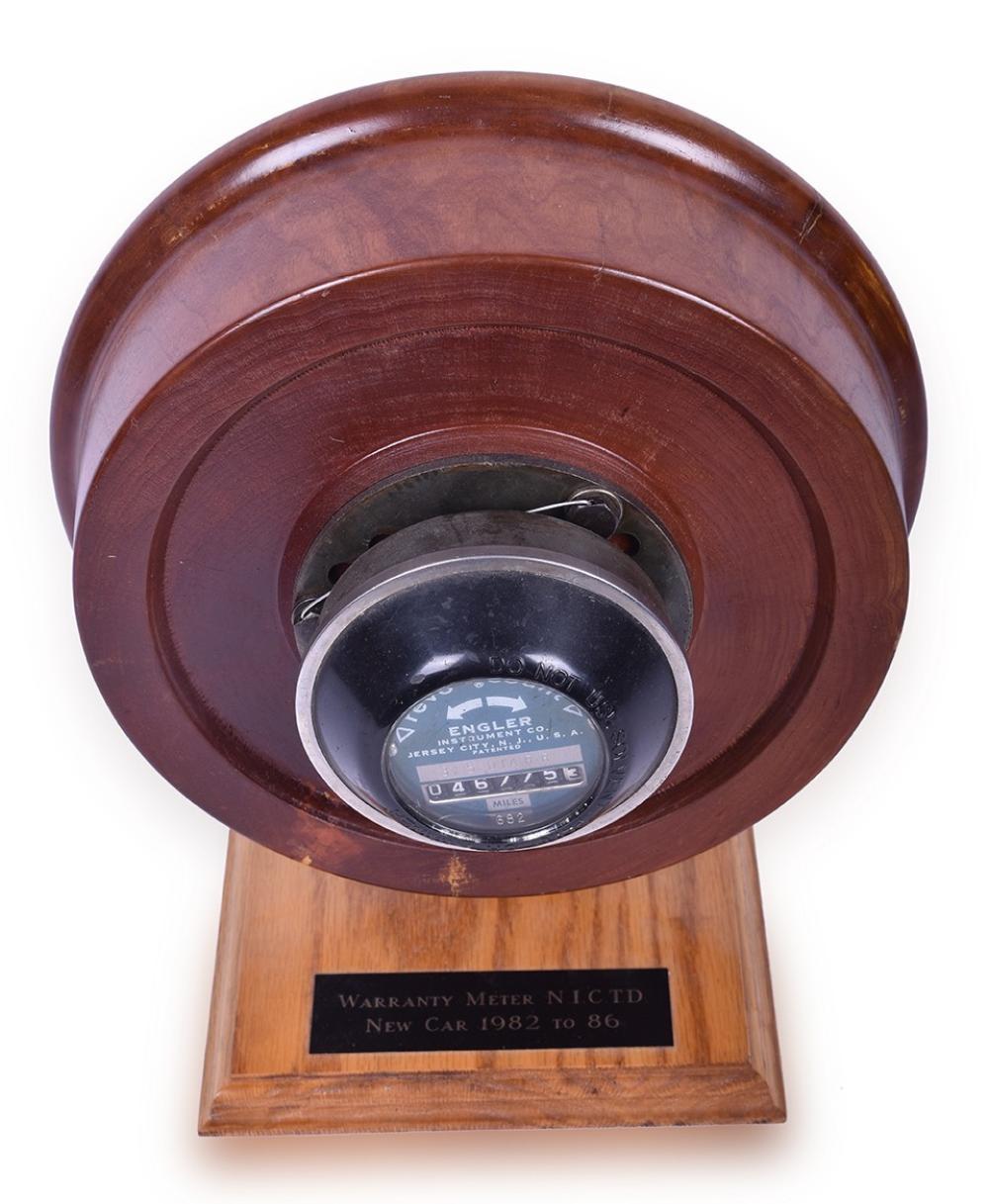 Custom Chicago, South Shore, & South Bend Railroad Nippon Sharyo Car Warranty Meter Display