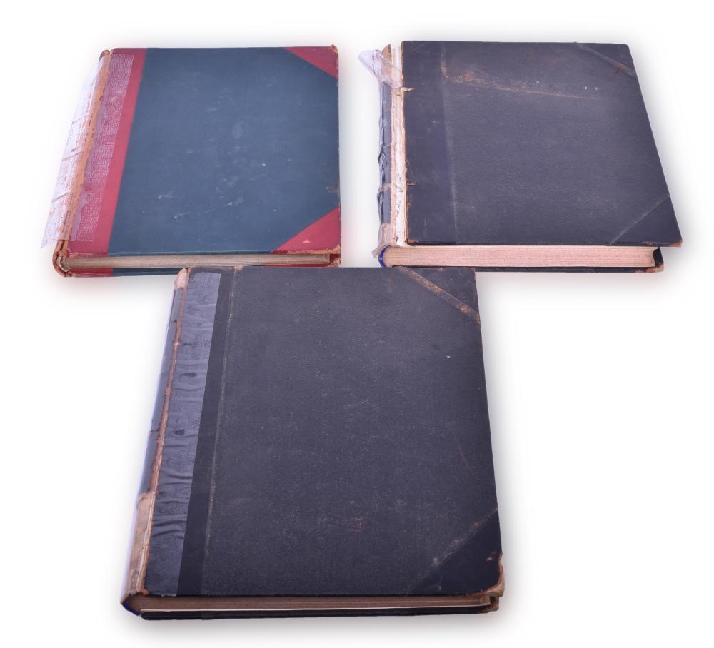 Three Bound Volumes of Railway Signaling Magazine - 1924, 1925, and 1931