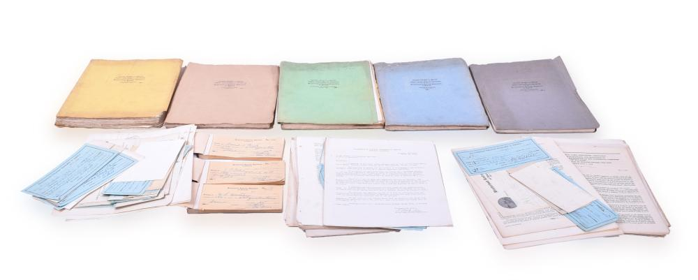 Brotherhood of Railroad Signalmen Paper Lot w/ Convention Reports and Minutes, and more 1930s and 1940s