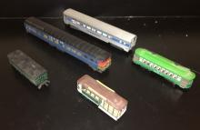 HO Scale Passenger Cars and Trolleys