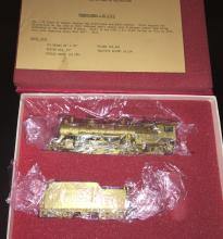 Key PRR HO Scale L2S Brass Steam Engine