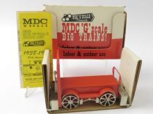 MDC G Scale Rail Speeder