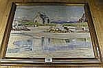 OUGHTRED BUCHANAN, Morar, oil on canvas (35 x 45