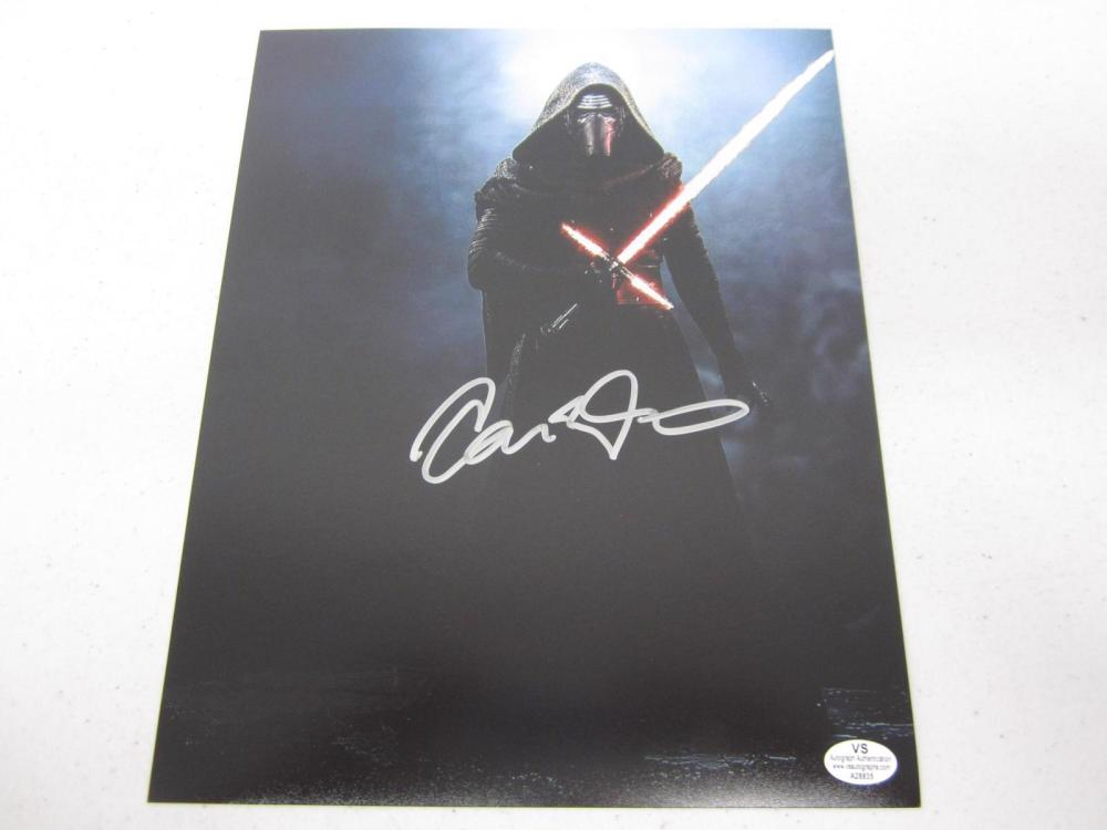 Adam Driver Star Wars Signed Autographed 8x10 Photo Certified Coa