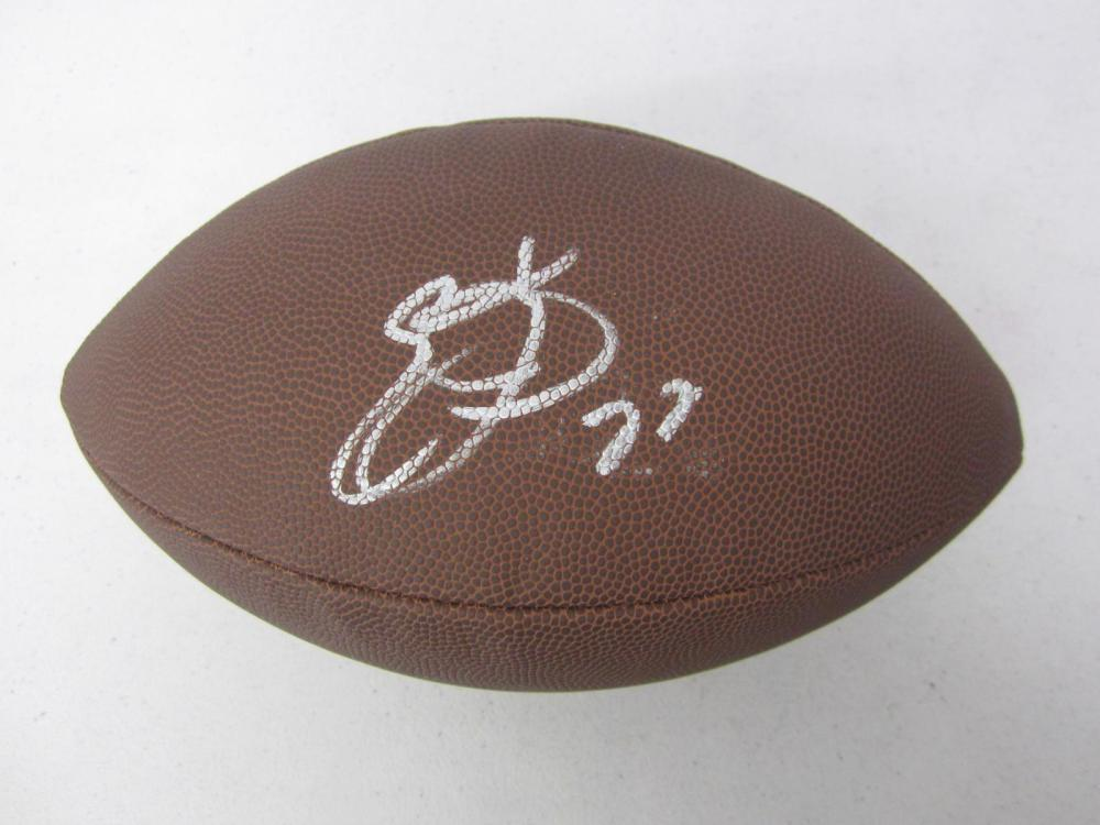 Emmitt Smith Dallas Signed Autographed Football Certified Coa