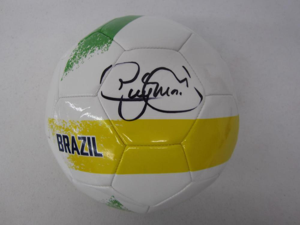 Neymar Signed Autographed Soccer Ball Certified Coa