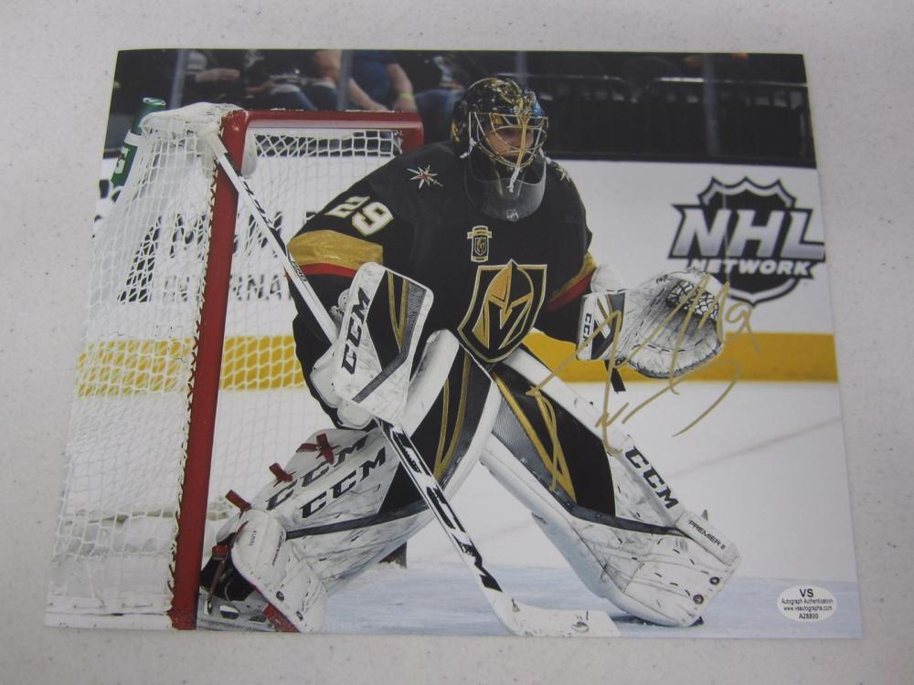Marc-Andre Fleury Signed Autographed 8x10 Photo Certified Coa