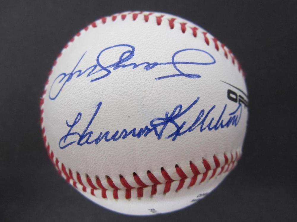 Harmon Killebrew, Sammy Sosa, Hank Aaron, Ernie Banks Signed Autographed 500 Home Run Club Autographed Baseball Certified Coa