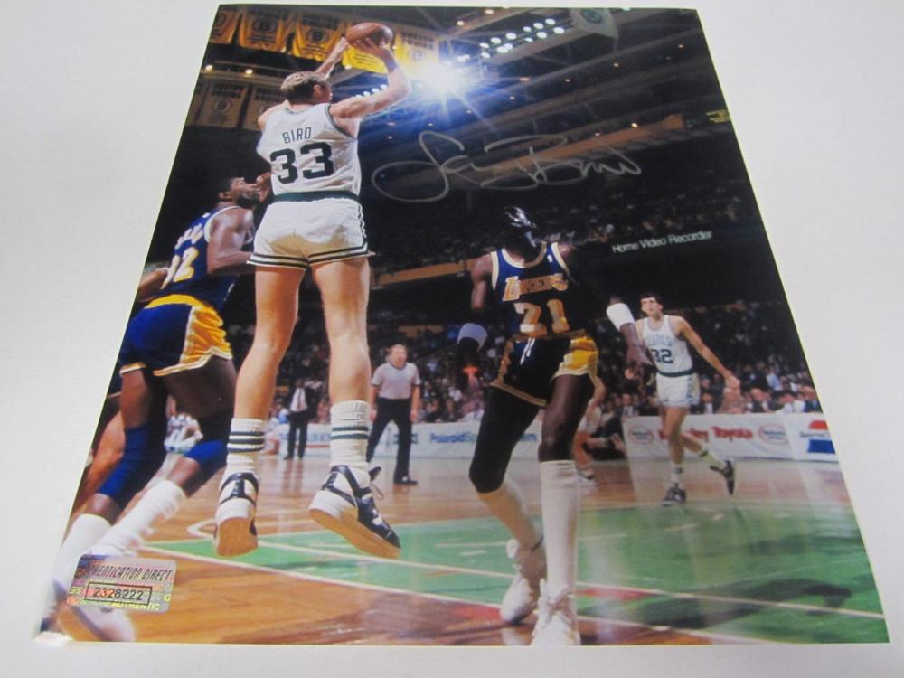 Larry Bird Boston Celtics Signed Autographed 8x10 Photo Certified Coa