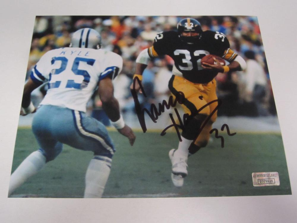 Franco Harris Pittsburgh Signed Autographed 8x10 Photo Certified Coa