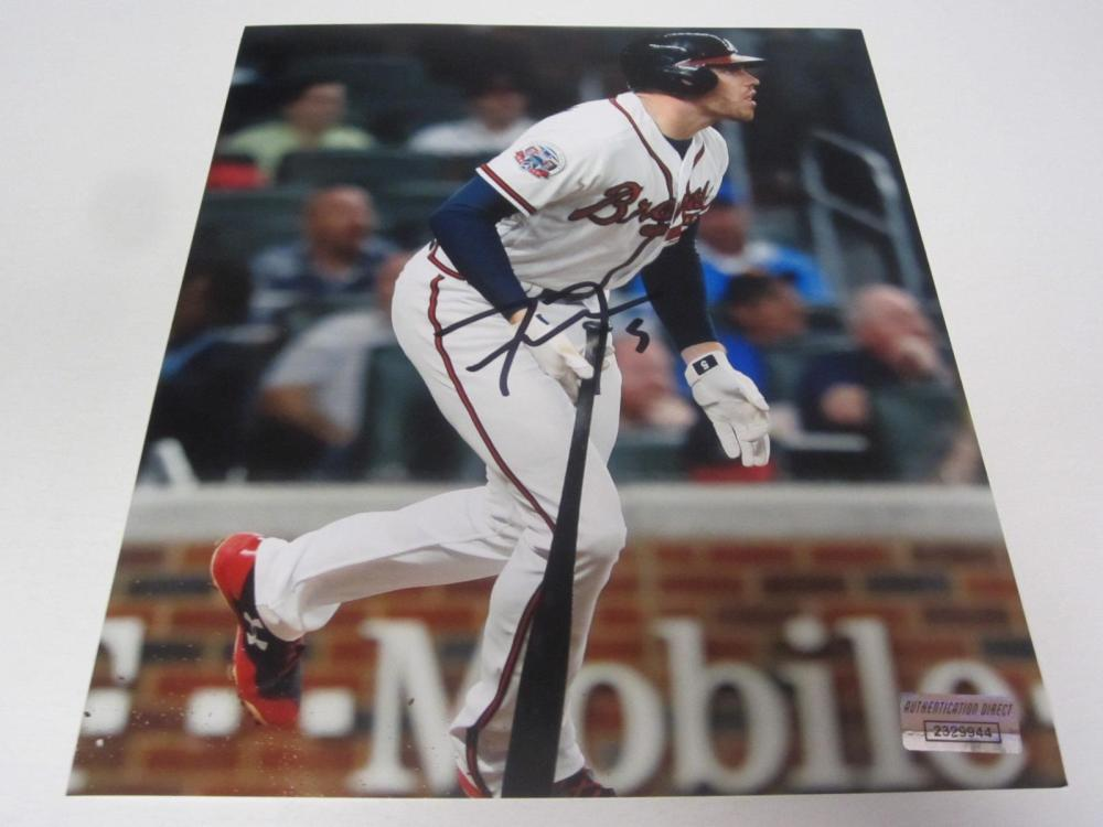 Freddie Freeman Braves Signed Autographed 8x10 Photo Certified Coa