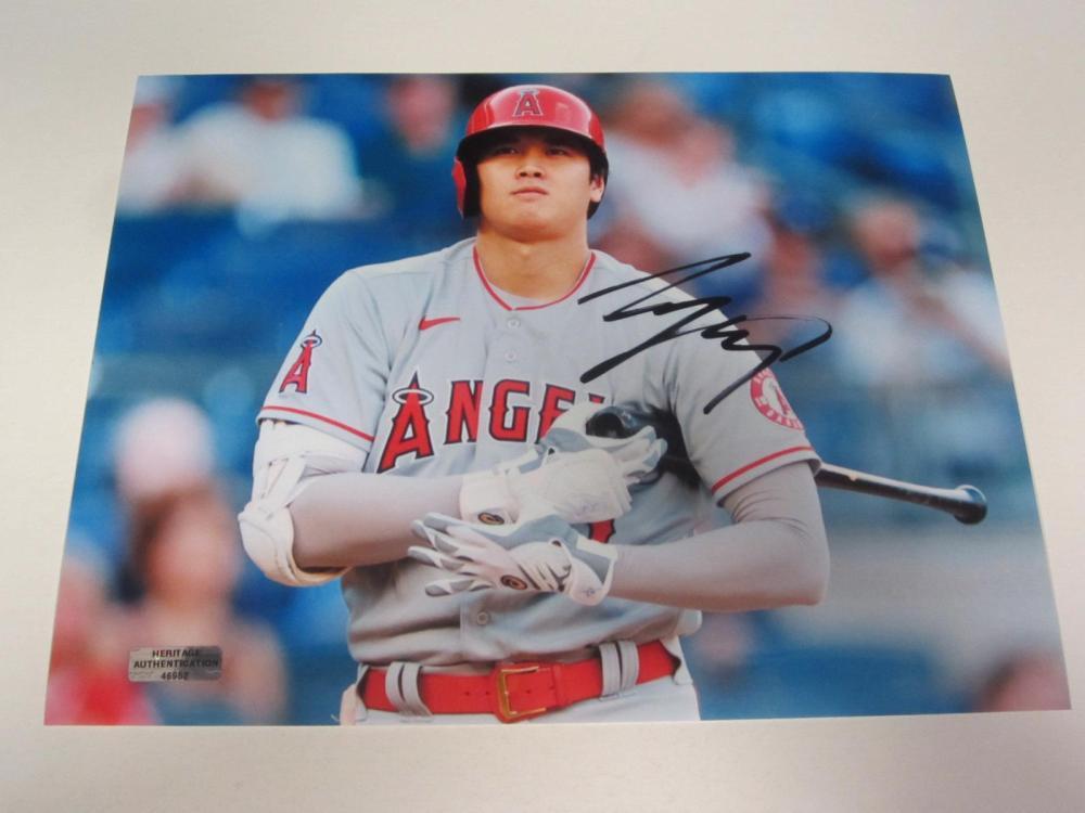 Shohei Ohtani Angels Signed Autographed 8x10 Photo Certified Coa