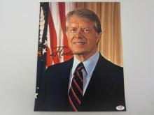 JIMMY CARTER SIGNED AUTOGRAPHED 11X14 PHOTO CERTIFIED AAA COA