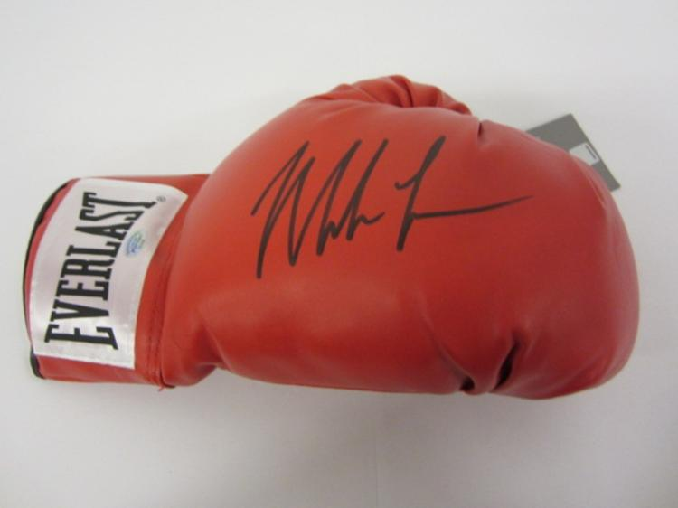 MIKE TYSON SIGNED AUTOGRAPHED BOXING GLOVE CERTIFIED PSASCERT.COM