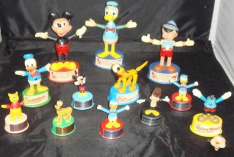 Vintage Disney Push Puppets