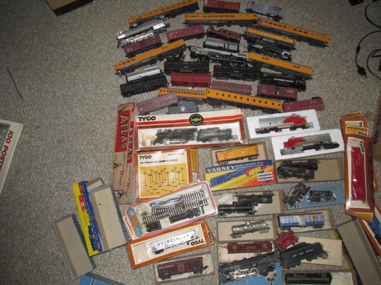 Old Trains,cars and parts