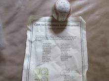 New York Mets signed Baseball