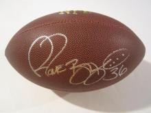 Jerome Bettis signed football