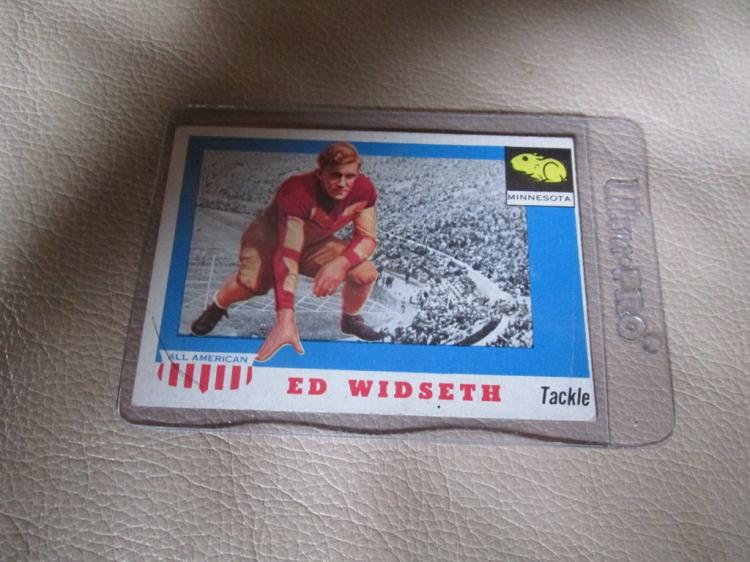 Ed Widseth All American card #48