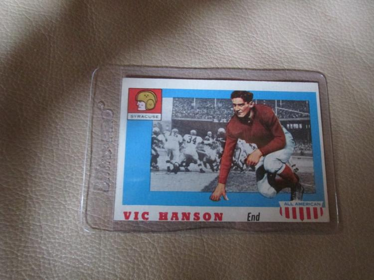 Vic Hanson All American Card #57