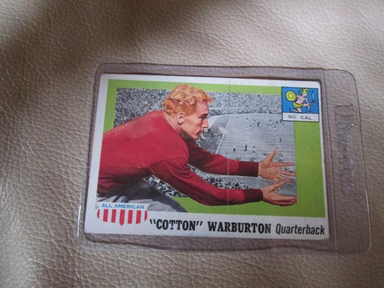 Cotton warburton All American card #81