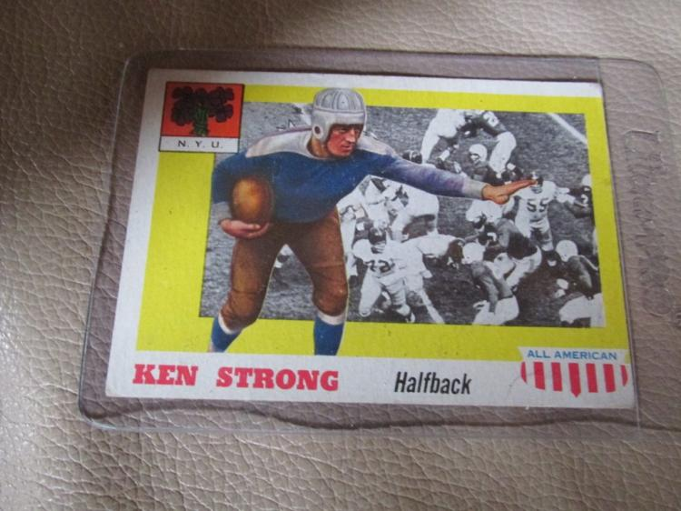 Ken Strong All American Card #24