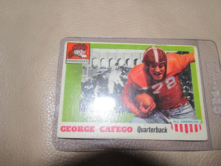 George Cafeco All American card #8