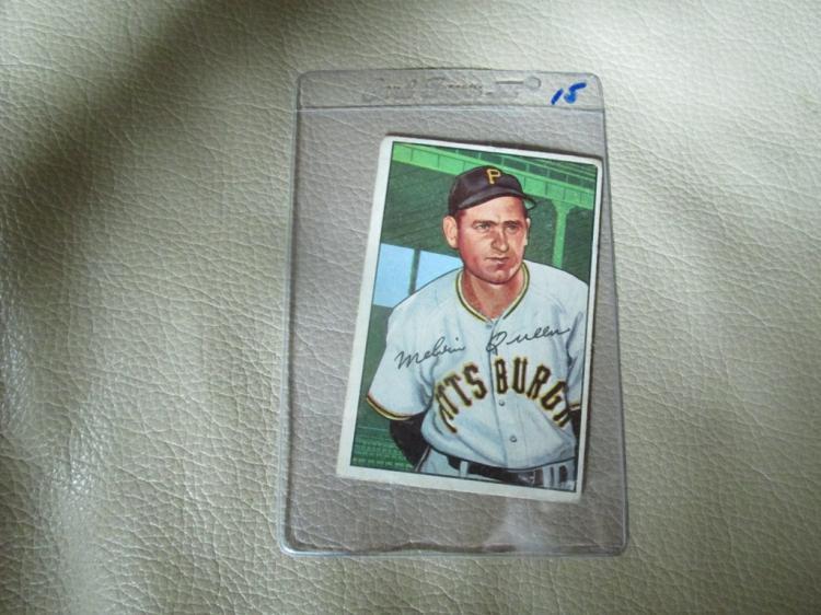 1952 Bowman card Mel Queen #171