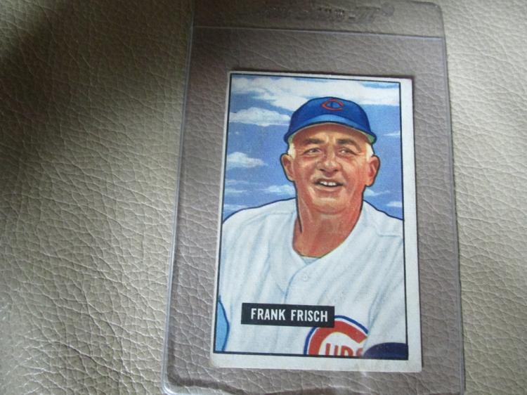 1951 Bowman card Frank Frisch #282