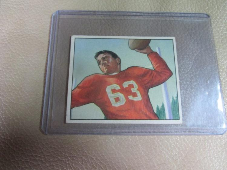 1950 Bowman card Frank Albert #36