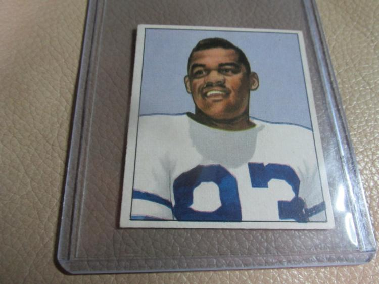 1950 Bowman card George Taliaferro #14