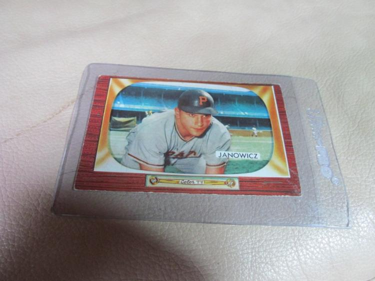 Vic Janowicz card #114