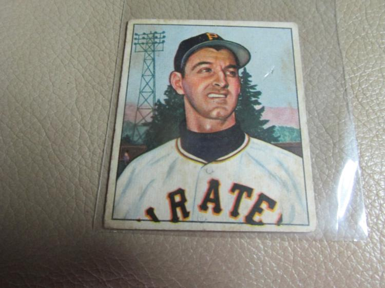 1950 Bowman card Pete Castigilione #201