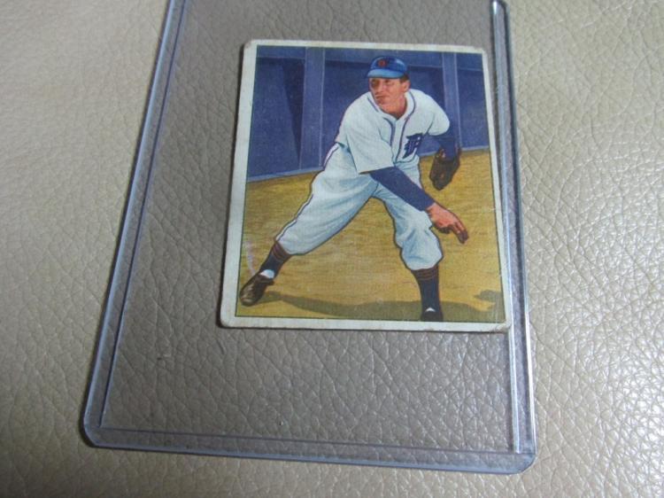 1950 Bowman card Fred Hutchinson #151