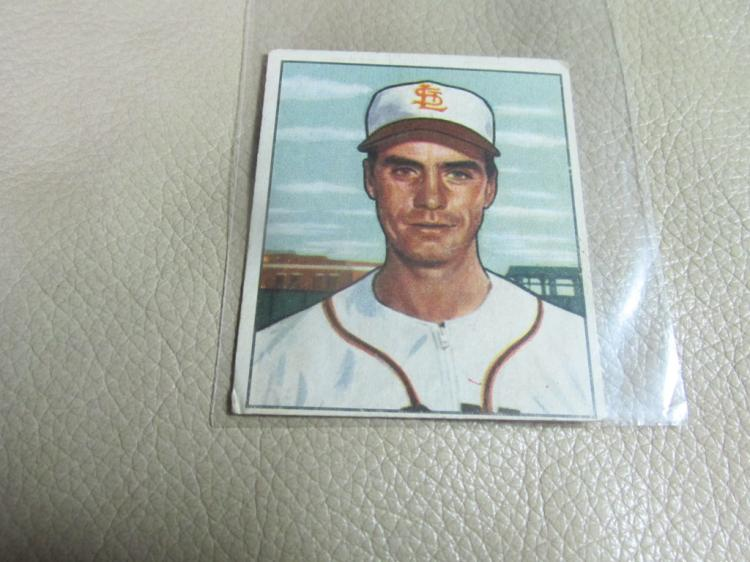 1950 Bowman card Billy Demars #252