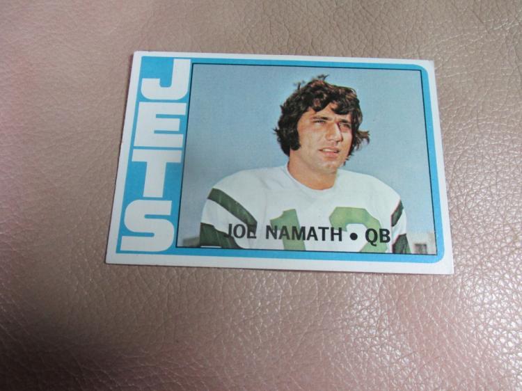 Joe Namath card #100
