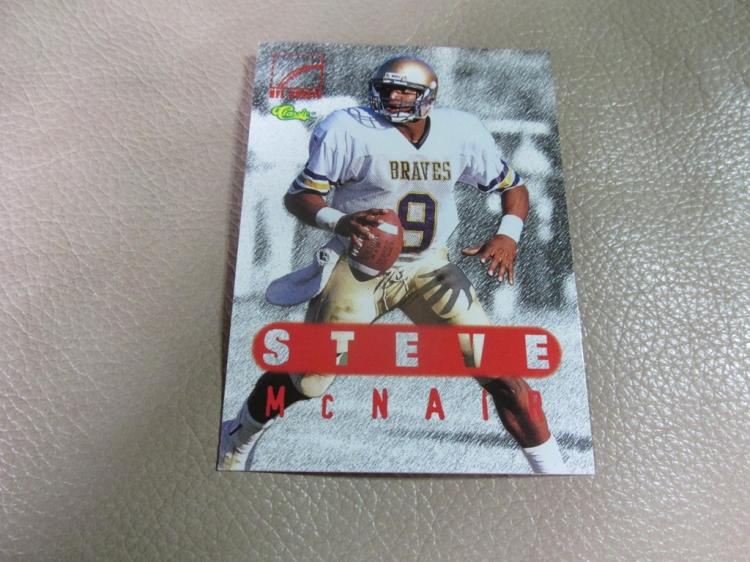 Steve Mcnair rookie card #76