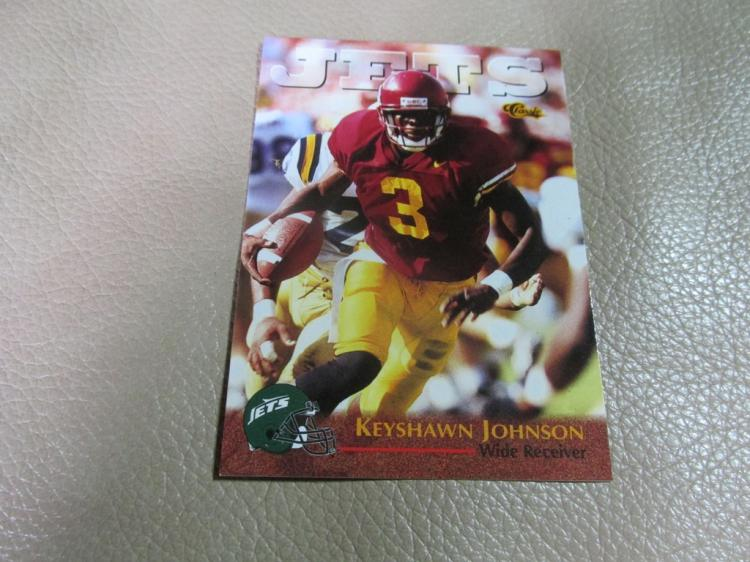 Keyshawn Johnson rookie card #1