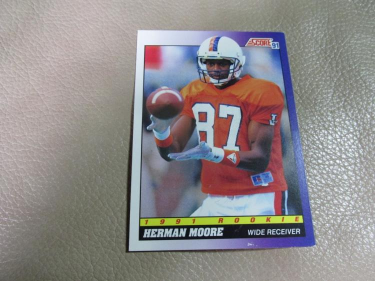 Herman Moore rookie card #568