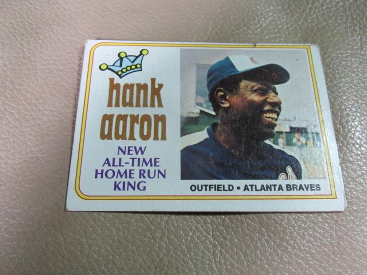 Hank Aaron card #1