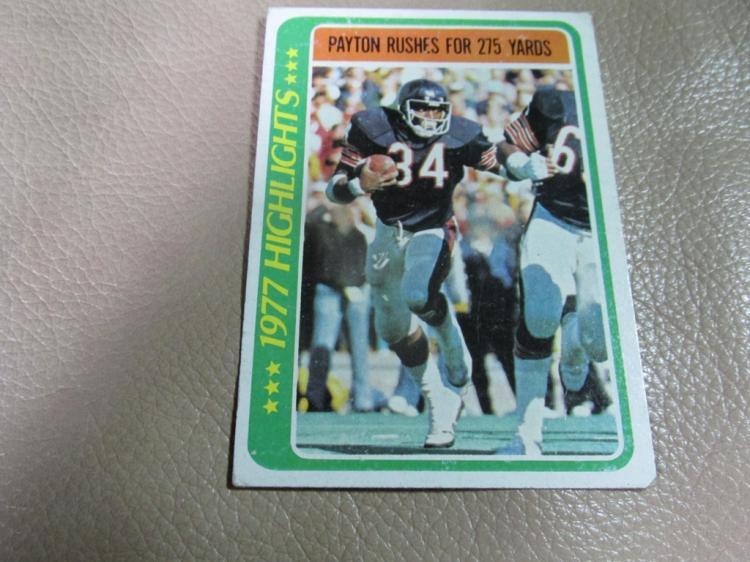 Walter Payton card #3