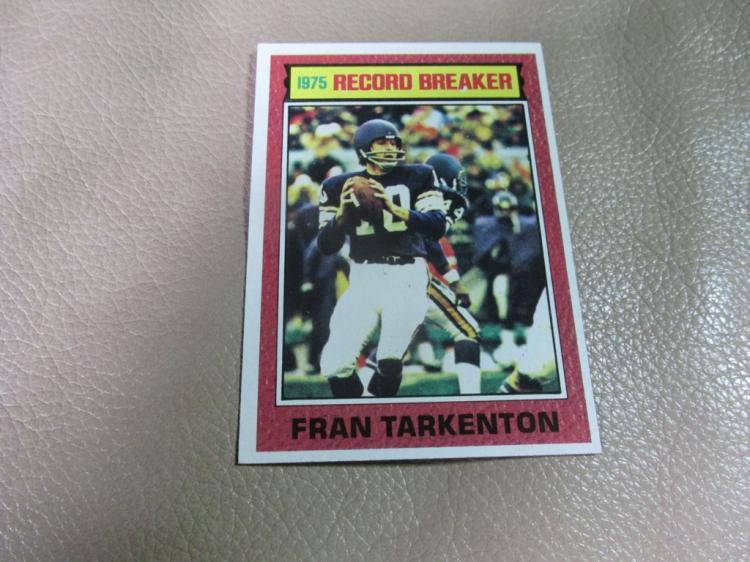 Fran Tarkenton card #7