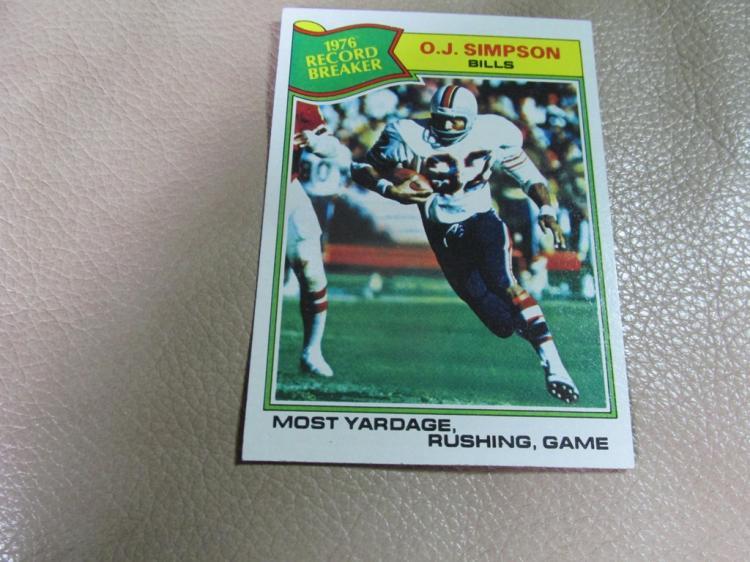 OJ Simpson card #453