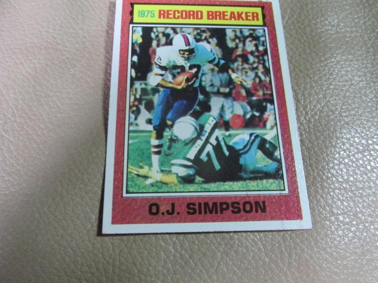 OJ Simpson card #6